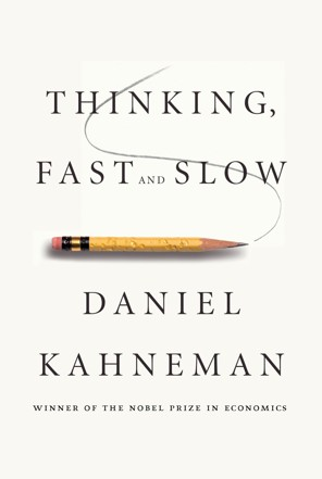 Cover of Kahneman's »Thinking, fast and slow«